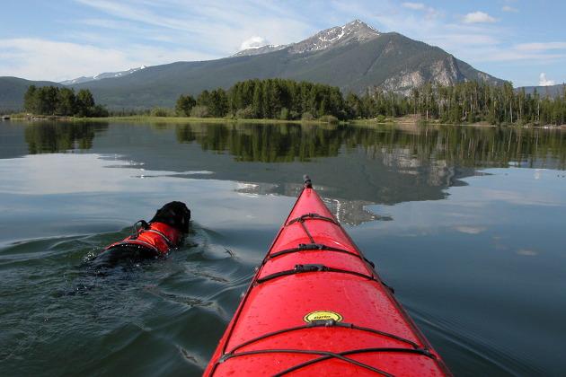 Lake Dillon Kayaking