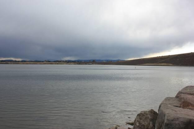 Fishing near denver in cherry creek reservoir sun 4 3 for Fishing near denver