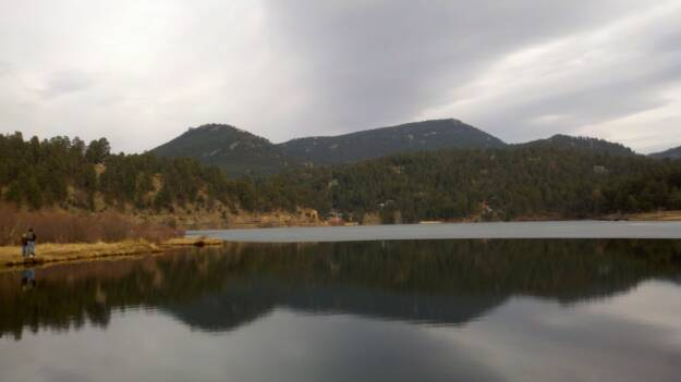 Evergreen CO Lake Fishing