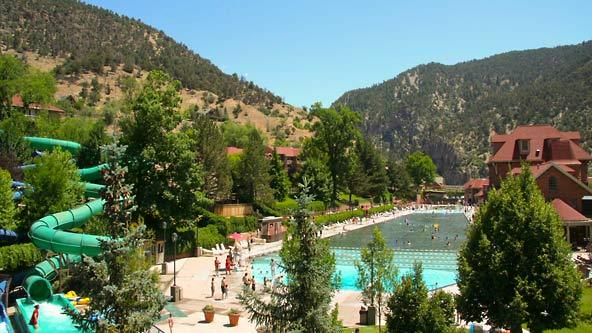 Glenwood Hot Springs Slide
