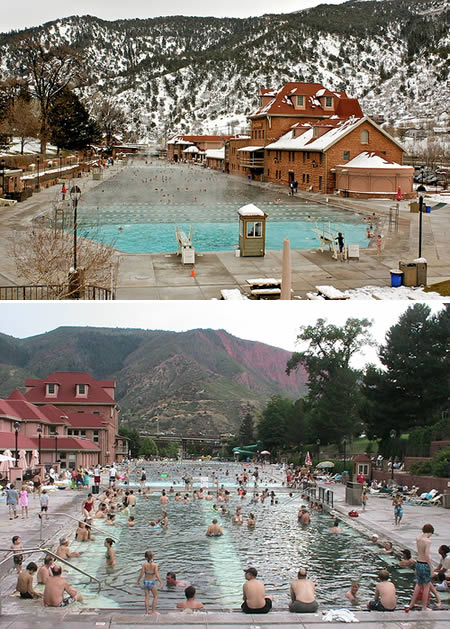 hot springs pool summer
