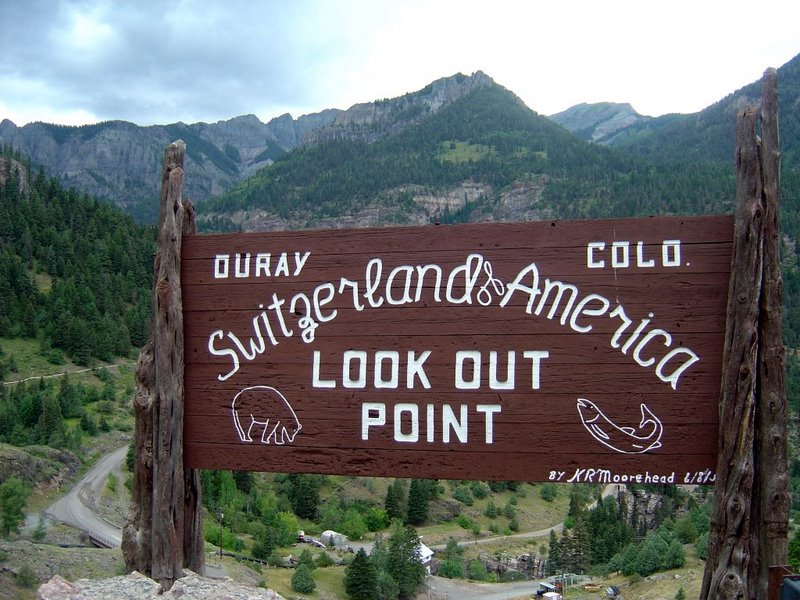 ouray colorado lookout point