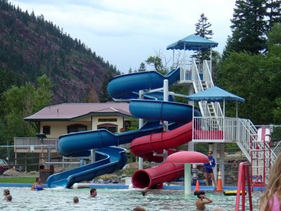 ouray hot springs slide