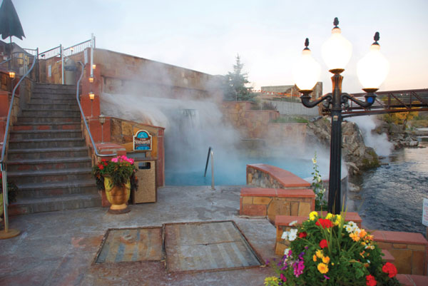 Pagosa Hot Springs Colorado