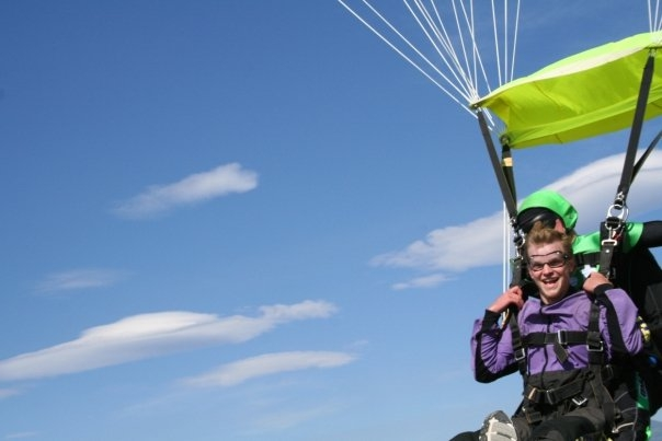 Mile-Hi Skydiving Parachute