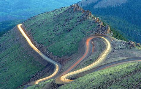 Peak to Peak Highway Pike Peaks Highway Colorado
