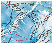 val d'isere trail map