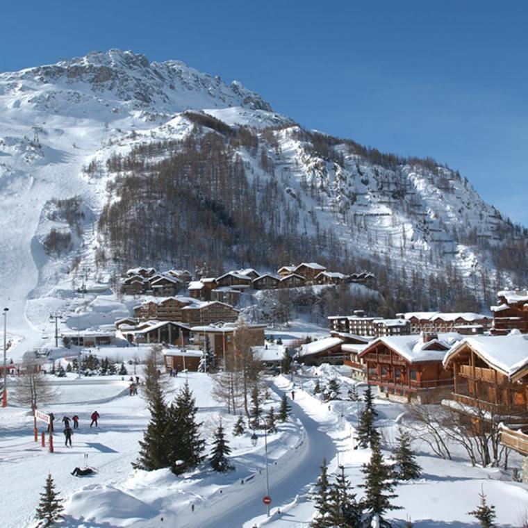 Skiing Snowboarding Val DIsere and Tignes Ski Area French Ski