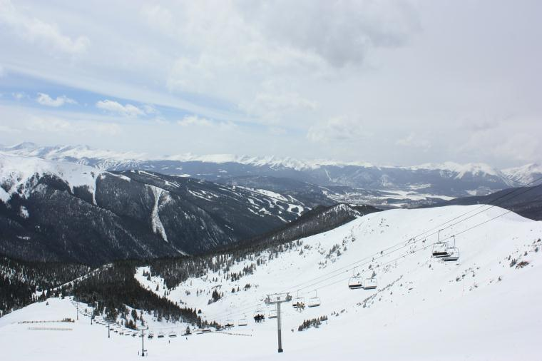 A Basin Montezuma Bowl View