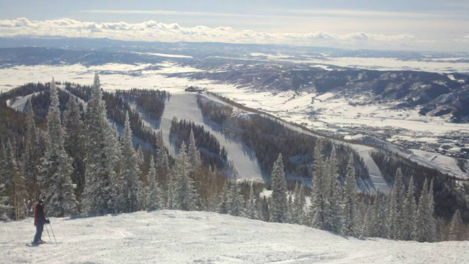 Steamboat Gondola Ski Trails