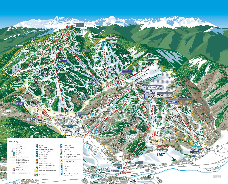 skiing & snowboarding beaver creek resort - colorado ski travel guide