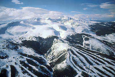 Breckenridge Resort Aerial View