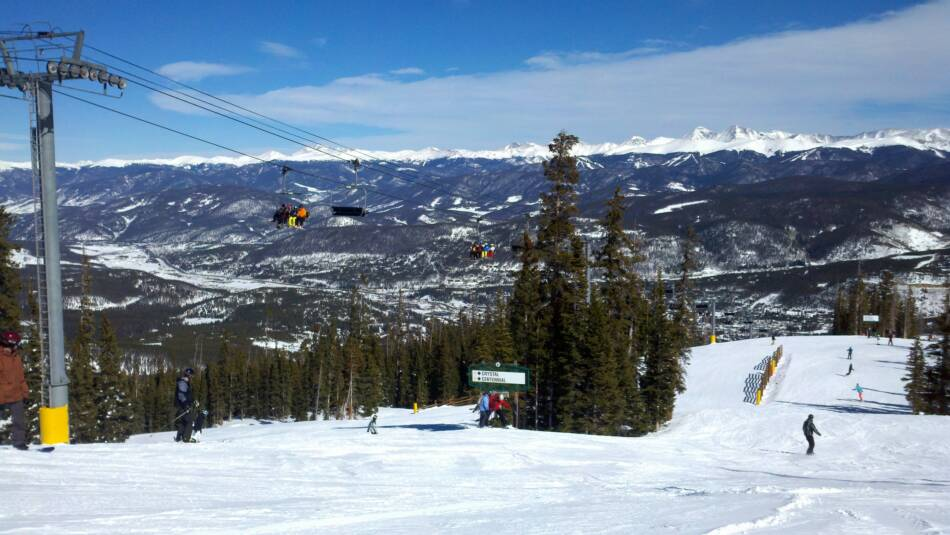 Breckenridge Falcons Chairlift