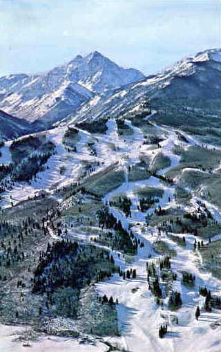 Buttermilk Ski Resort Aerial
