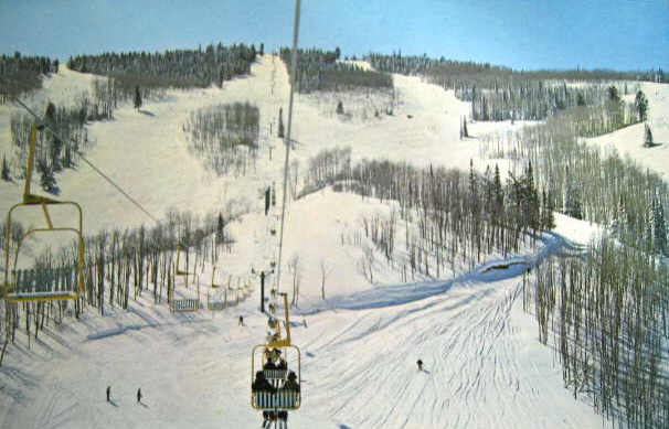 Buttermilk Mountain Slopes Chairlift