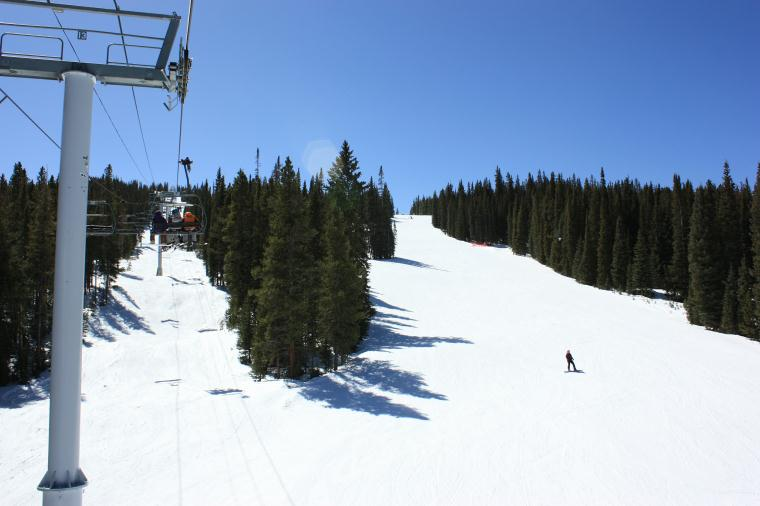 Copper Mountain ski groomers