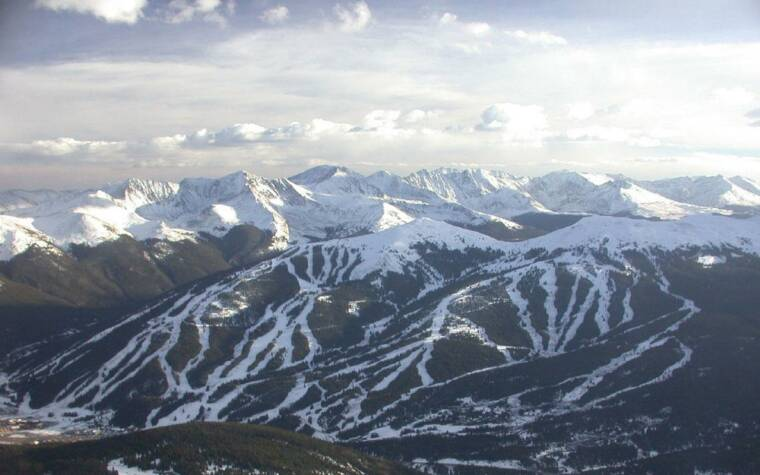 Copper Mountain Aerial View