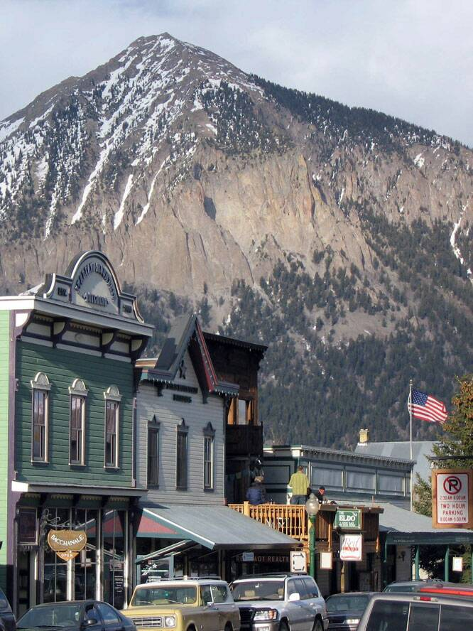 Crested Butte Historic Downtown