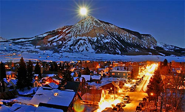 Crested Butte Town Summer
