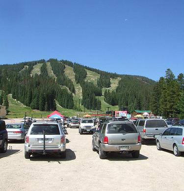 Eldora Mountain Parking Summer
