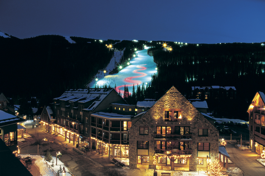 Keystone Resort Village Night