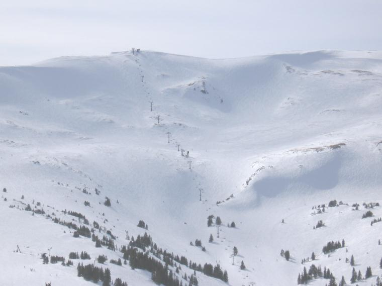 loveland ski area - continental divide