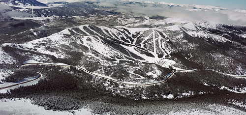 Monarch Mountain Aerial View
