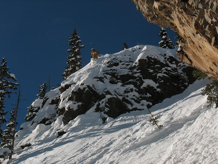 Silverton Mountain Cliffs