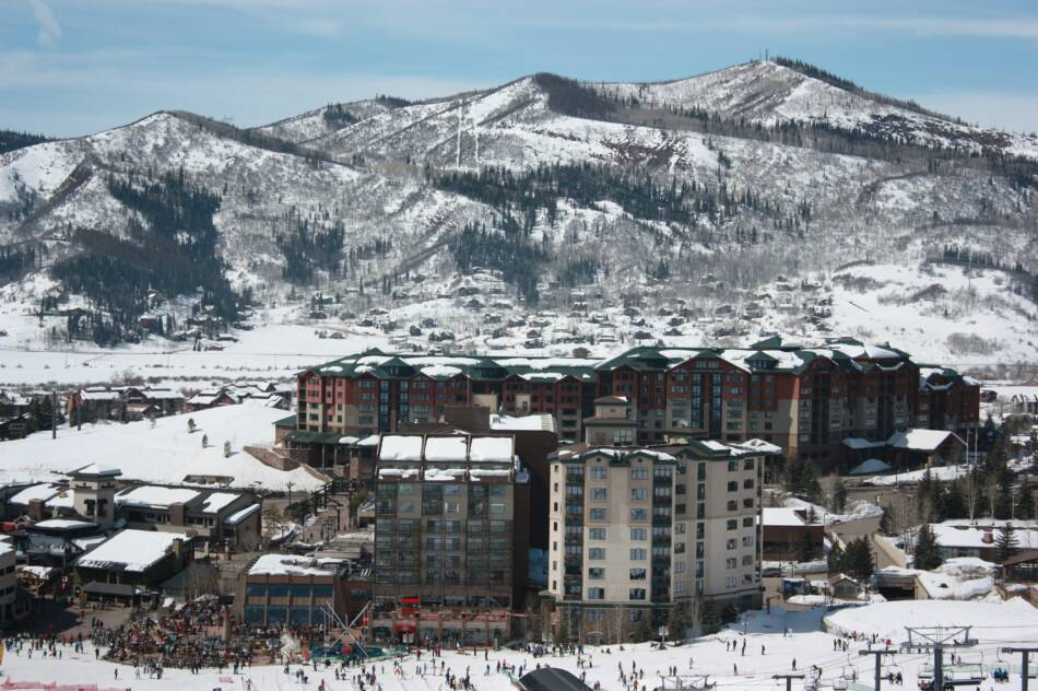 Steamboat Resort Base Village