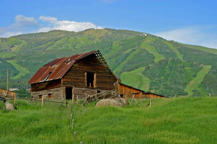steamboat springs barn summer