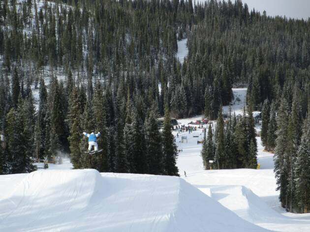 Winter Park Terrain Park