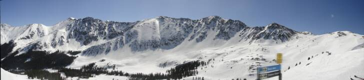 a basin east wall panorama