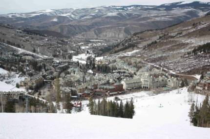 Beaver Creek Ski Mountain Vilage