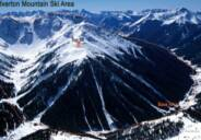 silverton  mountain aerial view