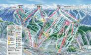 Vail Ski Trail Map Front